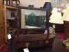 Antique Mahogany Dresser Mirror
