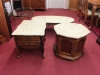 Hammary Three Piece Coffee and End Table Set