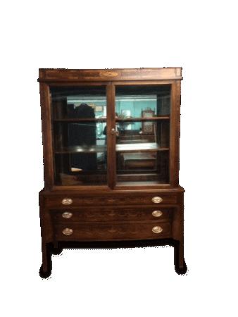 Antique Hepplewhite Style china cabinet
