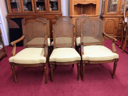 Henredon Louis XVI Style Chairs - Set of Six