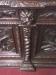 Antique Oak French Hunt Cabinet