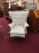 Vintage Upholstered 1930s Chair