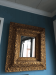 Antique Gilded Frame Mirror
