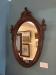 Walnut Victorian Oval Mirror