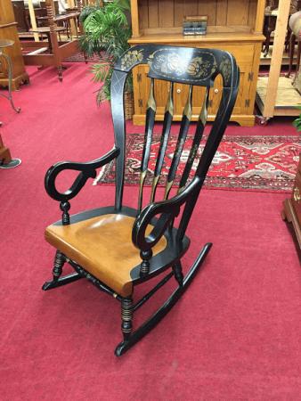 Stenciled Rocking Chair