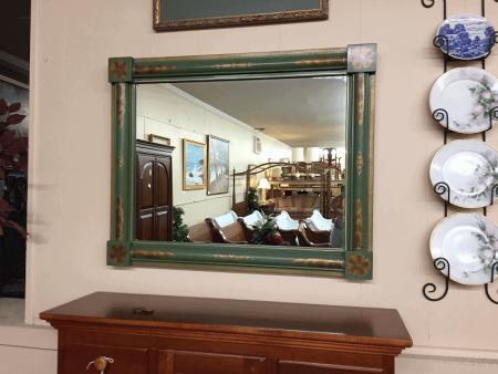 Hitchcock Stenciled Mirror