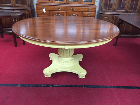 Nichols and Stone Pedestal Table