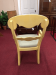 Nichols and Stone Yellow Arm Chairs