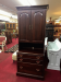 Knob Creek Filing Cabinet with Bookcase Top