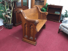 Antique Church Pew - Four Foot Long