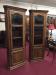 Vintage Oak Corner Cabinets