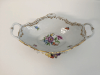 Antique Dresden Footed Bowl