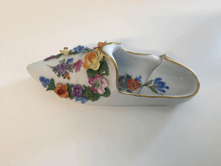 Antique Dresden Shoe