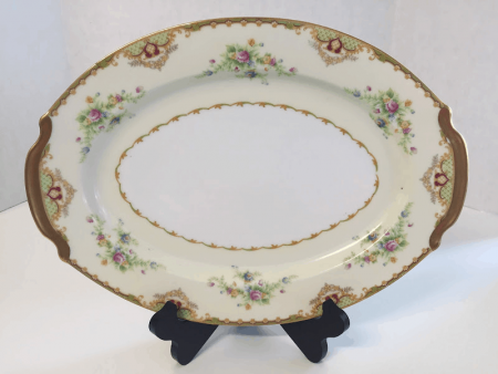 Large Empress China Serving Platter