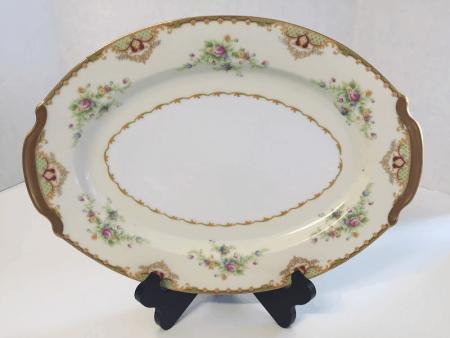 Large Empress China Serving Platter