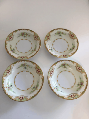 Empress China Fruit and Nut Bowls