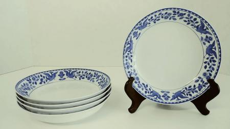"Nippon ""Royal Sometuke"" Bowls - Set of Five"