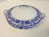 "Nippon ""Royal Sometuke"" Covered Dish"