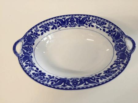 """Nippon """"Royal Sometuke"""" Oblong Dish"""