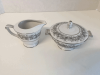 Florentine by Sango Sugar Bowl and Creamer