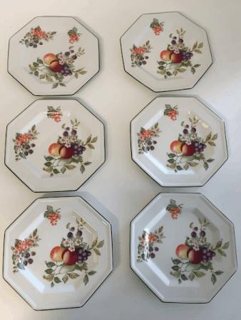 Johnson Brothers Octagon Salad/Luncheon Plates