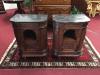 Antique European Marble Top Nightstands