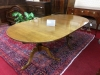 Tiger Maple Colonial Table Vintage Custom Made
