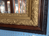 Antique Gilded and Wood Mirror
