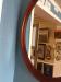 Statton Cherry Oval Mirror