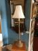 Vintage Gold Candlestick Lamp