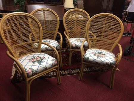 Vintage Bent Arm Sunroom Chairs