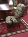 Vintage Tufted Arm Chair