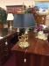 Vintage Baldwin Bouillette Lamp