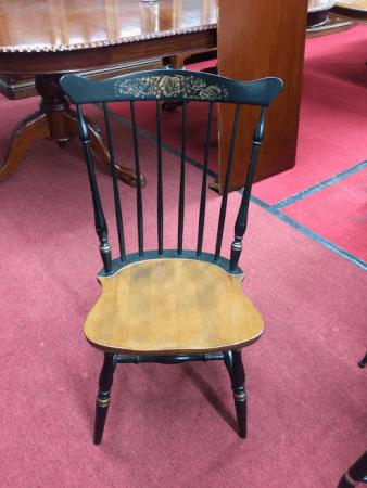 Vintage Hitchcock Stenciled Windsor Chair