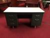 Industrial Vintage Desk - Mid Century Modern Metal Desk