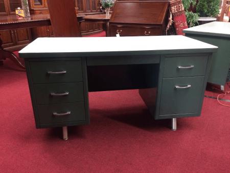 Industrial Vintage Desk - Mid Century Modern Metal Desk II
