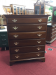 Vintage Davis Cherry Chest of Drawers