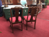 Stickley Cherry Dining Chairs - A Pair