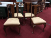 Vintage Stickley Chairs - Set of Four