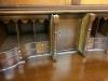 Craftique Solid Bahogany Blind Door Two Piece New Bern Secretary Desk