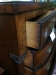 Antique Mahogany Swell Chest