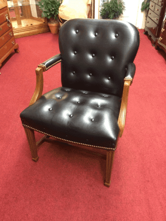Hancock and Moore Leather Desk Chair