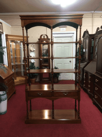 Pennsylvania House Open Bookcase