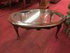 Pennsylvania House Glass Top Coffee Table