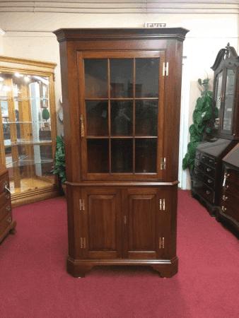 Henkel Harris Cherry Corner Cabinet