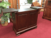 Vintage Colonial Furniture Flip Top Server