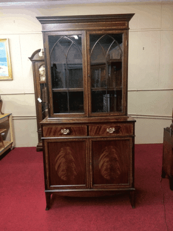 China Cabinet, Federal Style Furniture, Reproduction