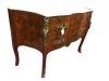 Satinwood Marble Top French Style Commode