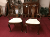 Hickory Chair Mahogany Arm Chairs - The Pair