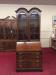 Vintage Double Bonnet Secretary Desk